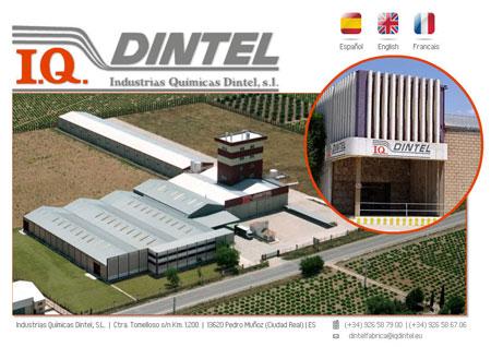 Fabricante de detergentes atomizados Industrias químicas Dintel